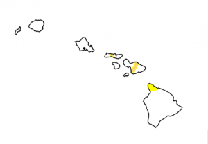 """NOAA states it's """"One of the rare cases in recent years where the state is in relatively good shape heading into an El Nino wet season."""" / Image: Hawaii Drought Monitor"""