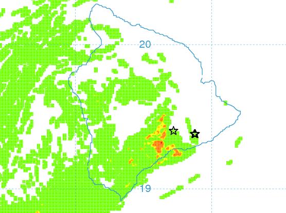 Vog Prediction Map - Image: UHSOEST