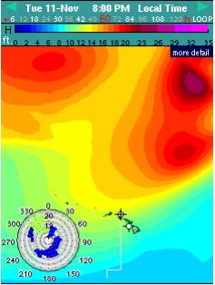 Tuesday swell - Image: Surfline