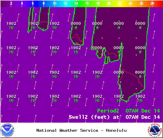 Sunday 7 a.m. / Image: NOAA / NWS