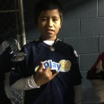 Ho'okena resident Jarom Alani, a finalist in the NFL's Punt, Pass, and Kick competition. Courtesy photo.