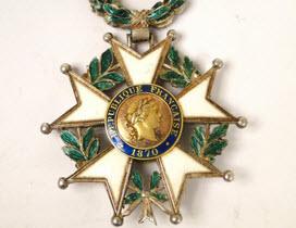 Legion of Honor Award. Courtesy image.