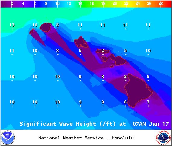 Saturday / Image: NOAA / NWS