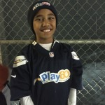Kailua-Kona's Tylana Abraham, a finalist in the NFL's Punt, Pass, and Kick competition. Courtesy photo.