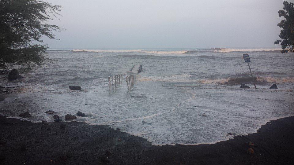 Puako Boat Ramp 1.22.15 / Image: Alice Thigpen