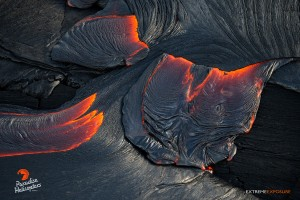 Photo taken on Feb. 26 during a June 27 lava flow overflight. Photo credit: Extreme Exposure Media/Paradise Helicopters.