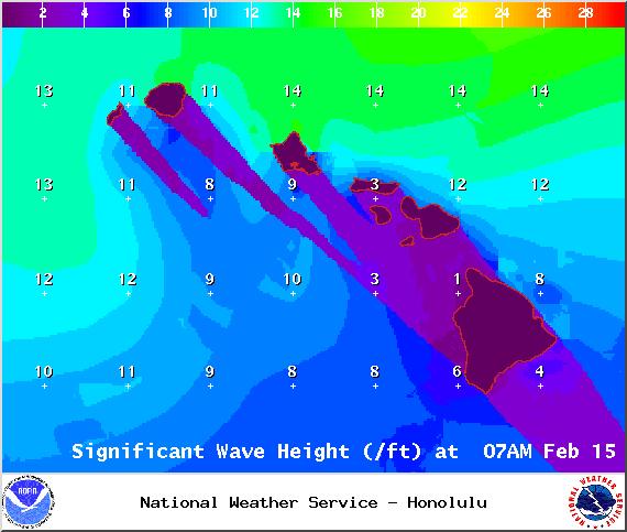 Sunday / Image: NOAA / NWS