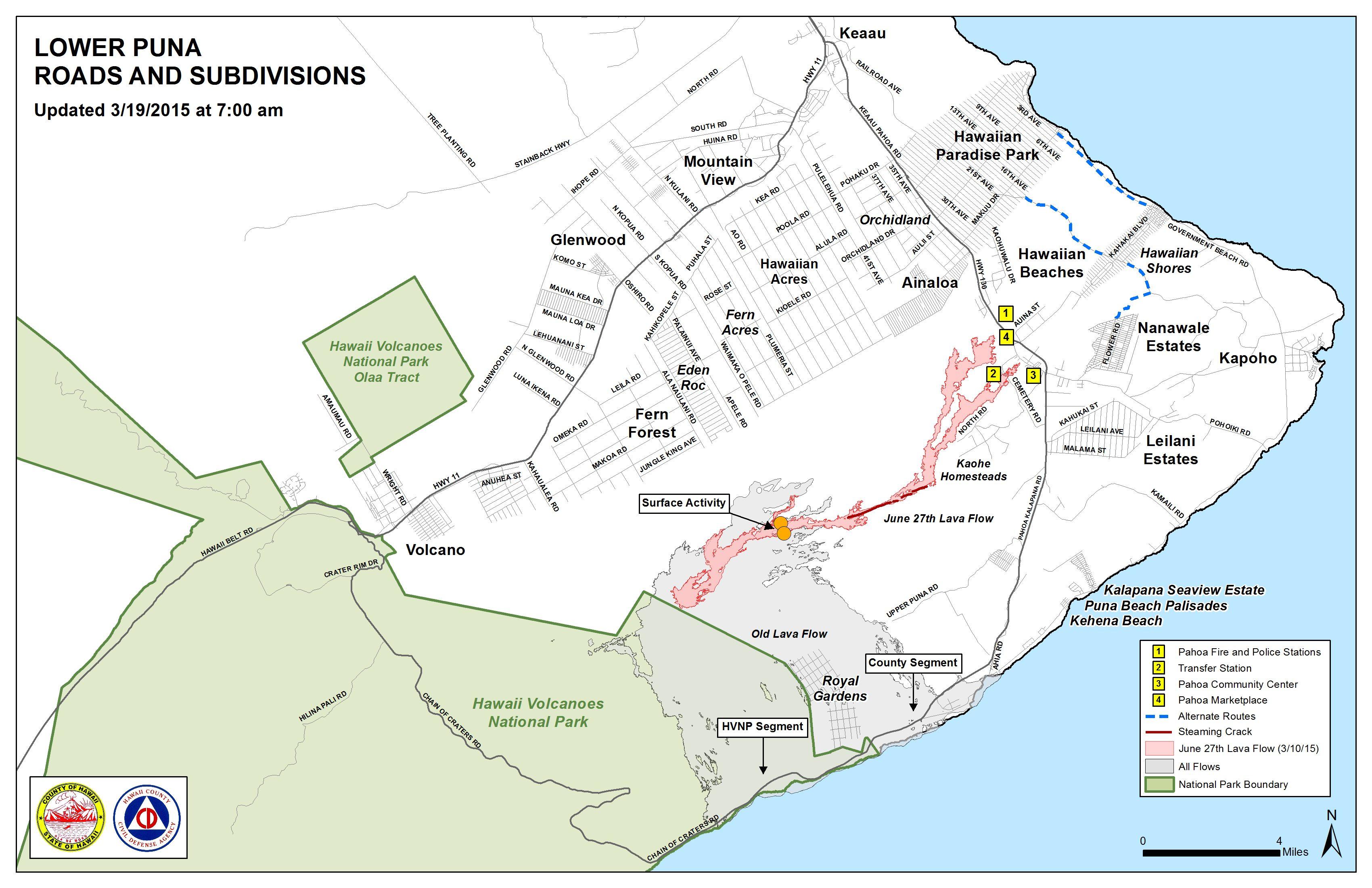 June 27 Lava Flow Update  31915  Big Island Now