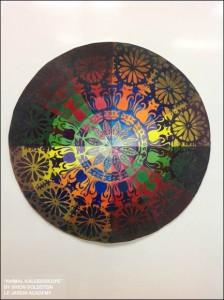 "Second Place: Shion Goldstein's ""Animal Kaleidoscope."""