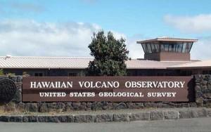 Hawaiian Volcano Observatory at Hawai'i Volcanoes National Park. USGS HVO photo.