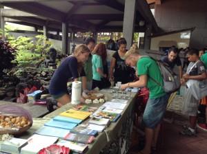 Hawai'i Community College and the University of Hawai'i at Hilo's Earth Fair, held April 17. Photo credit: Jamilia Epping.