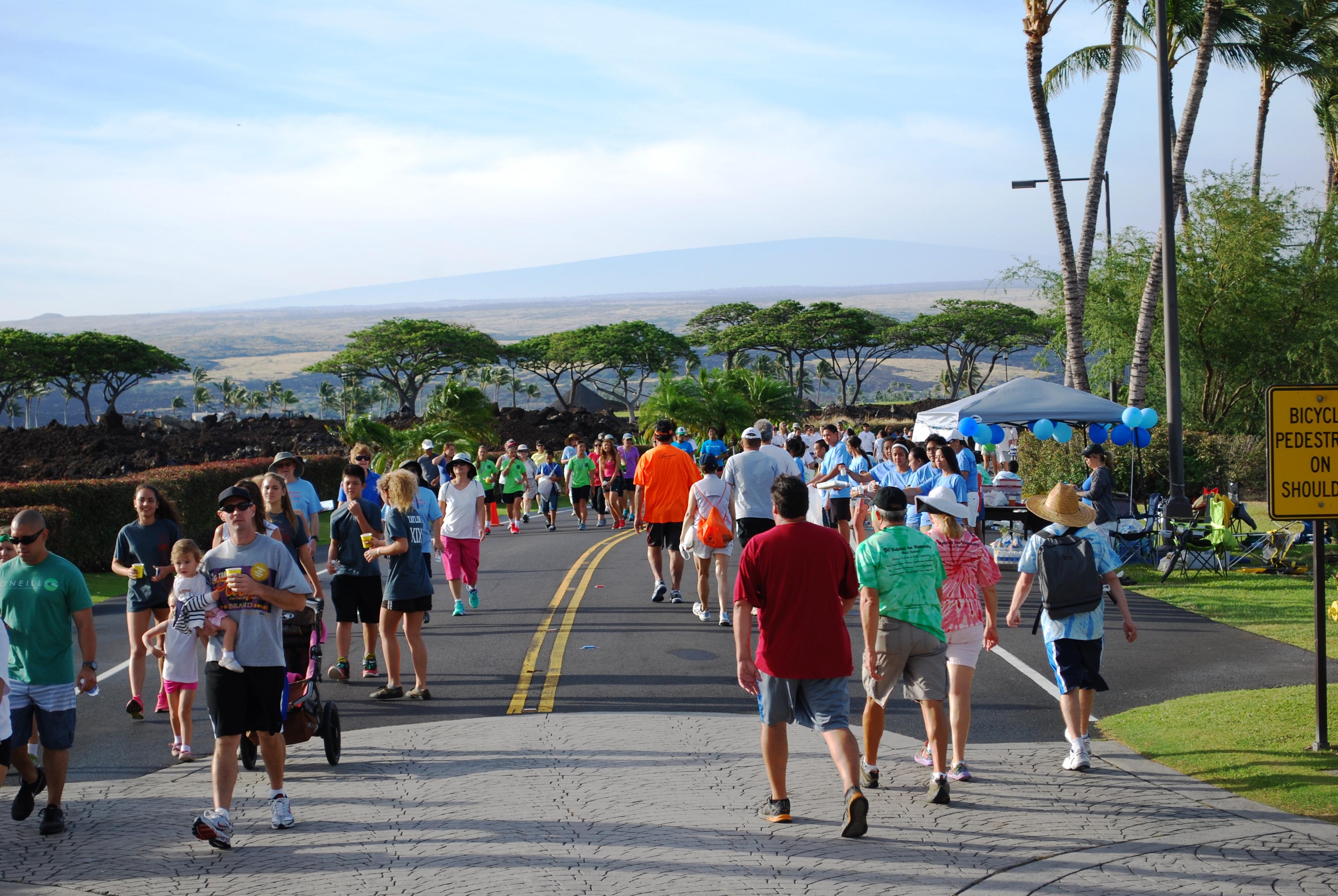 Charity Walk Hawaii Hlta Charity Walk Raises Over