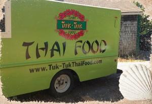 The Tuk Tuk Thai Food Truck.  Courtesy of Tuk Tuk Thai Food website.