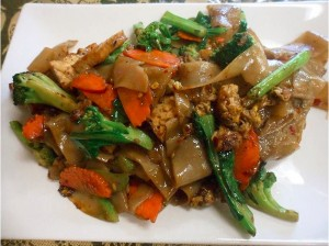 Pad Se Ew dish.  Courtesy of Tuk Tuk Thai Food website.