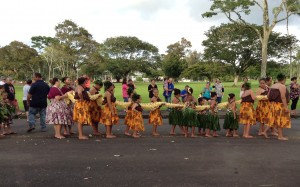 The 19th Annual Ka 'Ahulei O Kamehameha. Photo: Jamilia Epping.