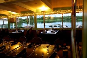 The Seaside Restaurant & Aqua Farm in Keaukaha offers an intimate dining setting for customers.