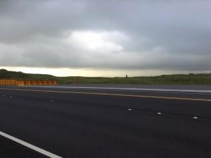 End portion of the Daniel K. Inouye Highway Truck Ramp. Photo: Jamilia Epping.