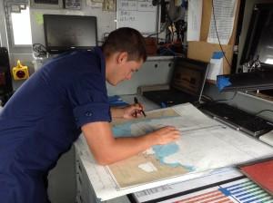 Seamen Chad Dautzenberg. Photo credit: Jamilia Epping.