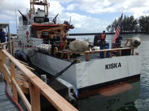 United States Coast Guard Cutter Kiska and crew. Photo credit: Jamilia Epping.