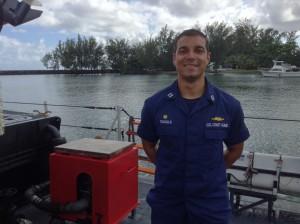 Lieutenant Kevin Trujillo. Photo credit: Jamilia Epping.
