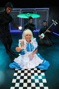 Anime Alice and Her Adventures in Wonderland. Kahilu Theatre courtesy photo.