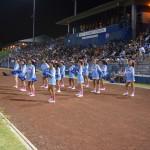 Kealakehe cheerleaders. Photo by Jamilia Epping.