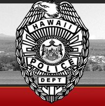 Badge Hawaii Police Department