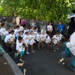Young competitors get started on their race in Kailua-Kona. Photo credit: UnitedHealthcare.