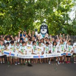 Participants of the 2015 Ironkids Keiki Fun Run. Photo credit: UnitedHealthcare.