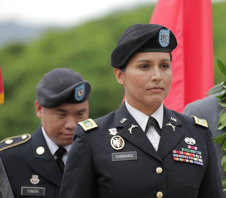 Gabbard Promoted Within National Guard Big Island Now