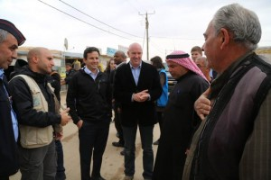United States Senator Brian Schatz traveled to Germany and Jordan over the weekend where he met with leaders and refugees. Photo courtesy of the Office of Senator Brian Schatz.