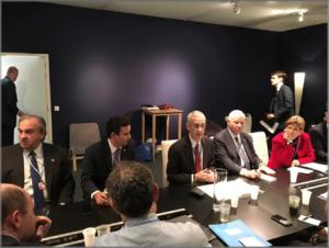 Senator Schatz meeting with Todd Stern, U.S. Special Envoy for Climate Change. Photo courtesy Office of Senator Brian Schatz.