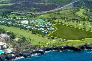 Aerial Shot Holua Kai Development. Elite Pacific Properties.