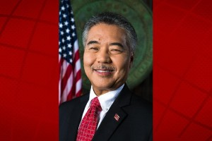 Governor David Ige. State of Hawai'i Governor's Office photo.
