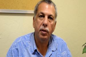 Hawai'i County Civil Defense Administrator Darryl Oliveira. File photo.