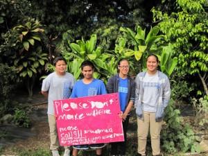 Waimea Youth Wildfire Prep Team. Hawai'i Wildfire Management Organization.