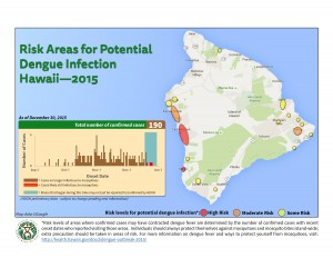 Dengue map updated Dec. 30, 2015.