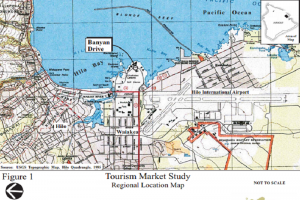 Tourism Market Study of Banyan Drive planning. Munekiyo Hiraga study image.