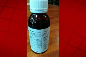 Master Herbs, Inc. has issued a voluntary recall of all 100 ml bottles of Licorice Coughing Liquid cough syrup. FDA photo.