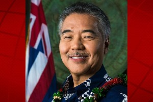 Gov. David Ige. State of Hawai'i office photo.
