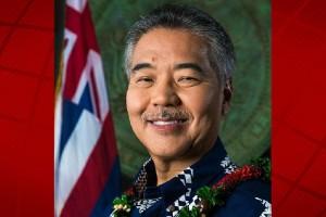 Governor David Ige. State of Hawai'i Governor's Office photo.