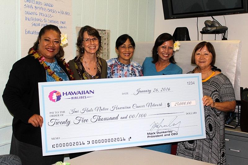 L R Kuata Ofoia Flight Attendant And Breast Cancer Survivor Amanda Allison Imi