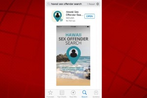 Hawai'i Sex Offenders Search App.