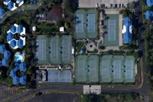 Holua Tennis and Pickleball Center. Google Earth photo.