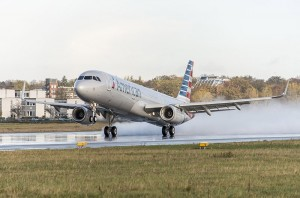 American Airlines photo of an Airbus 321 aircraft.