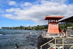 Kahalu'u Beach Park file photo by Jamilia Epping.