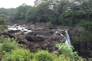 The top portion of Rainbow Falls. File photo by Jamilia Epping.