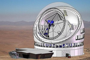 An artist's rendering of TMT with its vents open. TMT photo.