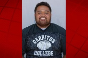 Kealakehe graduate David Fangupo. Cerritos College photo.