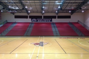 Kea'au High School Gymnasium, one of two host sites for the OC16/HHSAA Division II Girls Basketball Tournament. Photo by Josh Pacheco.